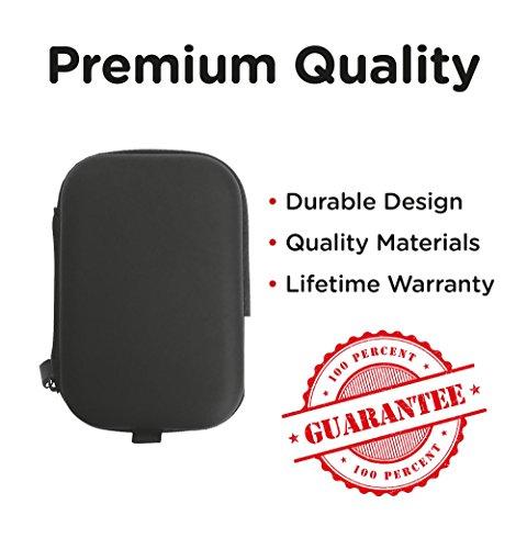20e05198a21 AirPods Case - Premium Zipper Hard Case [Holds AirPods, - Import It All