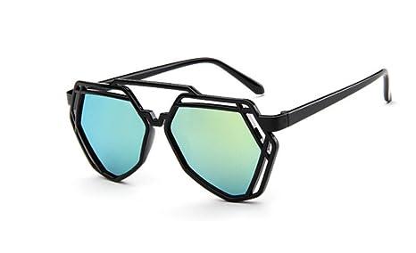 DaoRier Gemstone Shape - Gafas de Sol, Dorado, Talla única ...