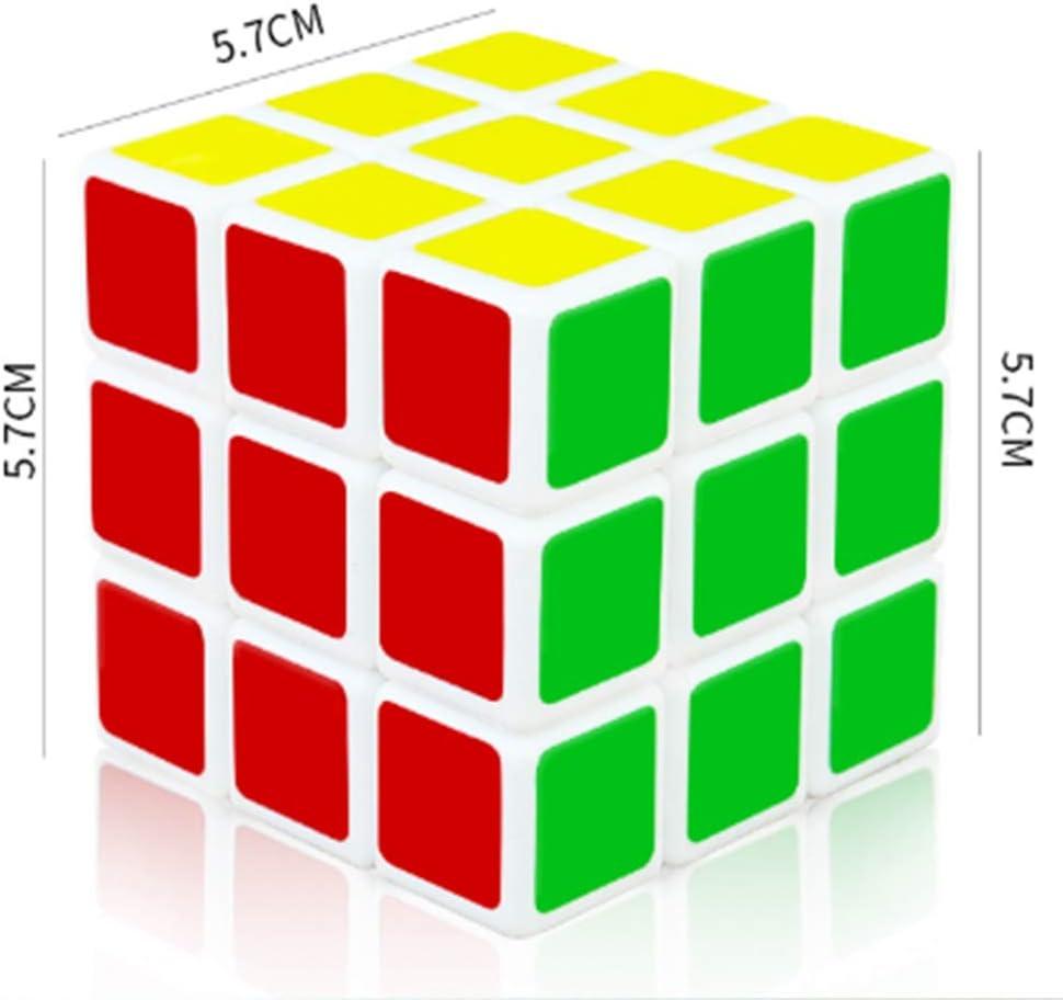 Ydq Cubo De La Velocidad Paquete Cubo Mágico Puzzle Pack Fácil De Tornear y Liso Jugar: Amazon.es: Deportes y aire libre