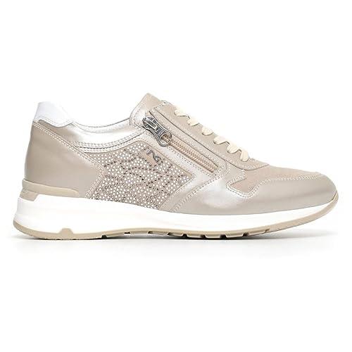 Nero Giardini donna sneakers blu P805053D scarpe primavera estate 2018 -  mainstreetblytheville.org d2255407950