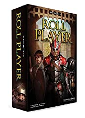 In roll player, you will compete to create the greatest fantasy adventurer who has ever lived, preparing your character to embark on an epic quest. Roll and draft dice to build up your character's attributes. Purchase weapons and armor to out...
