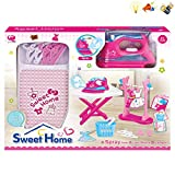 sweethome Ironing Board Set & Play Iron with