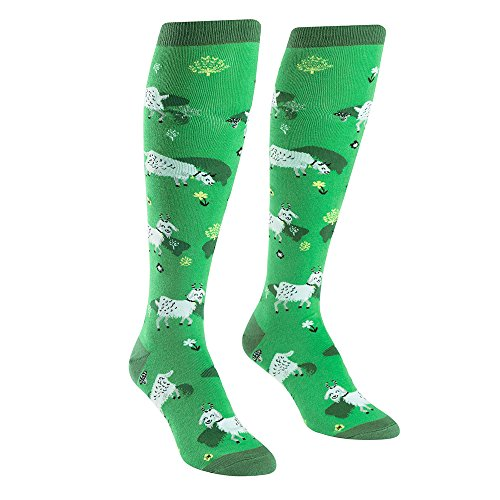 Sock It To Me Women's Knee High Socks - Fresh Off the Goat from Sock It To Me