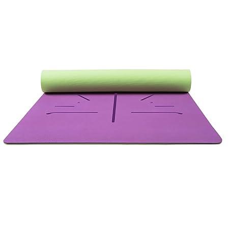LiuJianQin YJD Estera de Yoga/Slip Plus Thick Plus Wide Pad ...