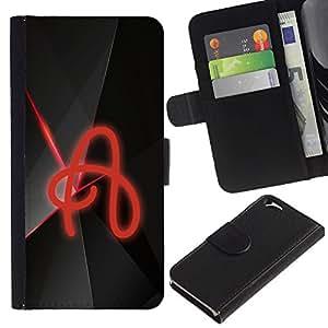 EJOY---La carpeta del tirón la caja de cuero de alta calidad de la PU Caso protector / Apple Iphone 6 / --LA