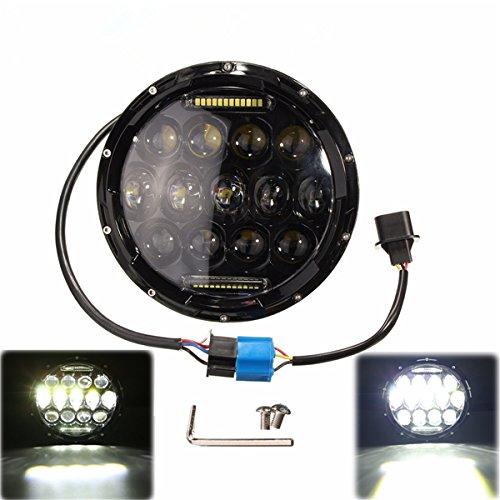 7 Inch 10-24V LED H4 Headlight Hi/Lo for Jeep Wrangler Harley Davidson - Davidson Harley Hummer