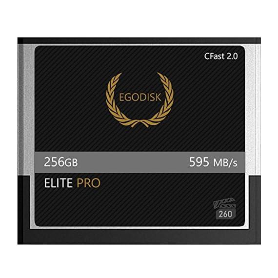 Egodisk elite pro 256gb cfast 2. 0 card-(blackmagic ursa mini | bmpcc pocket | 4k • 4. 6k • 6k | canon • xc10 • xc15 • 1dx… 1 egodisk. Com 3 year usa limited warranty global shipping video performance guarantee-260 ( vpg-260 ) cfast 2. 0 vpg-260 capacity: 256gb speed: 595mb/s