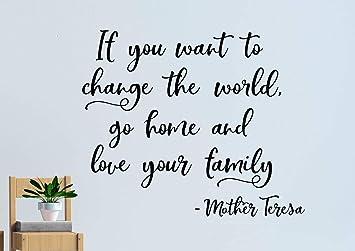 Amazoncom Littledollz Mother Teresa Wall Decal Mother Teresa Quote