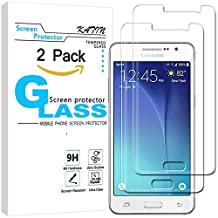 Galaxy G530 Screen Protector - KATIN [2-Pack] Samsung Galaxy Grand Prime G530 Premium 9H Tempered Glass [ 3D Touch Compatible 2.5D Round Edge ] with Lifetime Replacement Warranty