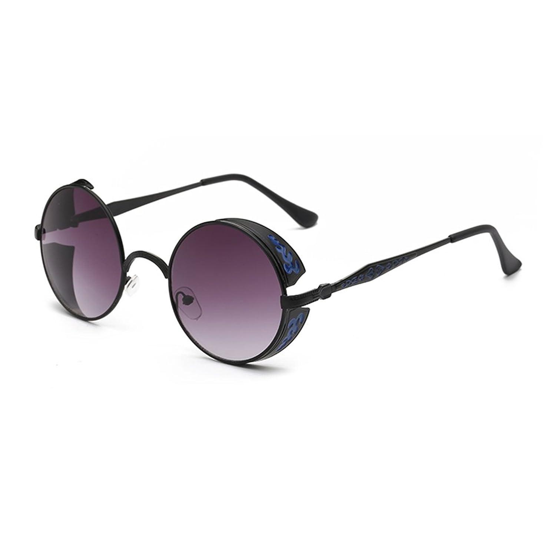 68aea5f64499 lovely Coolsunny Vintage Hippie Retro Metal Round Circle Frame Sunglasses  CS1039