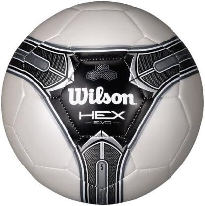 NEW Wilson Traditional Soccer Ball White//Black 5