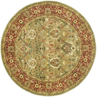 Safavieh Persian Legend PL819B Area Rug – Light Green/Rust