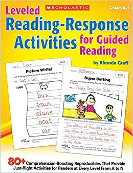 Leveled Reading Response Activities for Guided Reading: 80+