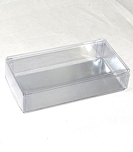 OREO Cookie 2 Piece Clear Favor Boxes with Silver Insert (for Chocolate Molded Oreo Cookies) for Weddings, Showers, Birthday Parties, and Special Events (10) (24)