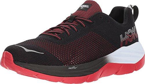 Hoka 1019279-BWHT: Men's Mach Black/White Running Sneakers (11 D(M) US Men)