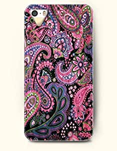 THYde OOFIT Apple iPhone 5c Case Paisley Pattern ( Hot Pink Floral Buteh ) ending