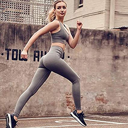 Fitness & Body Building Nice Pink And Black Womens Tracksuits Yoga Set Sports Wear Activewear For Women Sexy Sport Suit Fitness Clothing Sets Gym Clothes Comfortable Feel