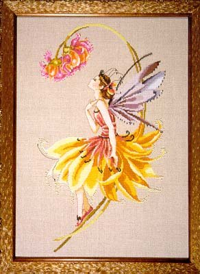 Petal Fairy - Cross Stitch Pattern