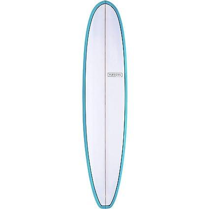 Amazon Com Modern Surfboards Boss Pu Longboard Surfboard Sports