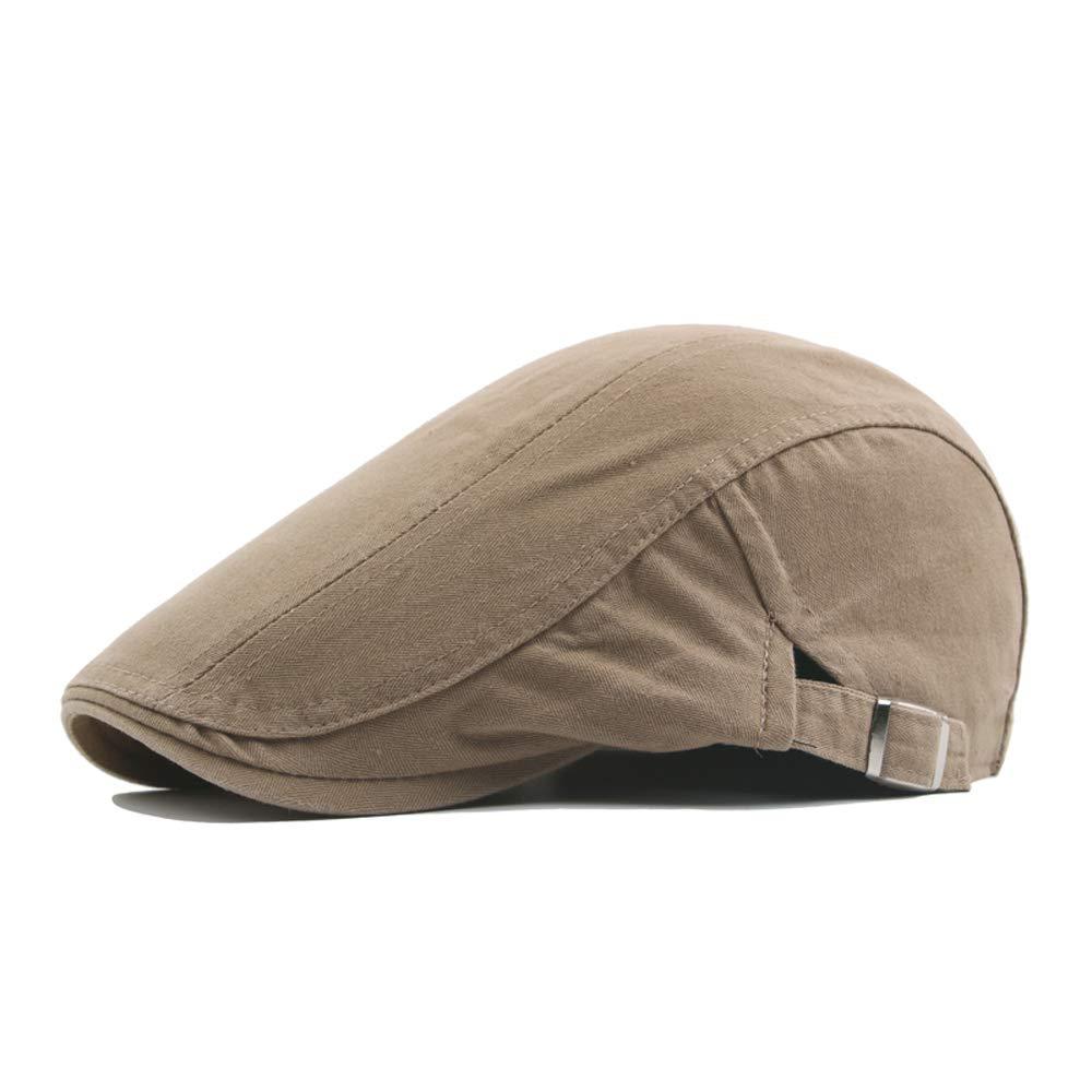 Rolcheleego Boinas de Verano para Hombre Mujer Unisex de Algod/ón Gorra Visera Cap Plano Sombrero Newsboy Deportivo Hat Flat Ocio Ajustable
