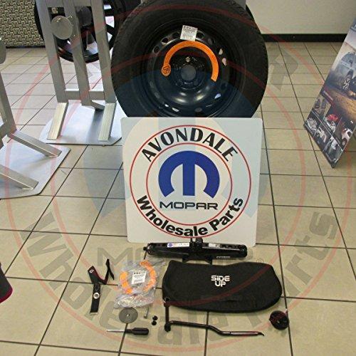 Mopar 2015-2016 Jeep Renegade Emergency Spare Tire Wheel Kit with Roadside Jack