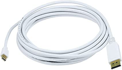 3 6 10 15FT Mini DisplayPort Male//Male Video Cable MDP MacBook Monitor 32AWG
