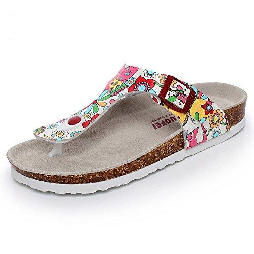 Cn35 Per 1 Scarpe Corta Sughero Estive Uk3 colore Eu36 18 Donna Moda Da Haizhen Le 2 40 Donne Pantofole Taglia In Anni Rzq1FFx