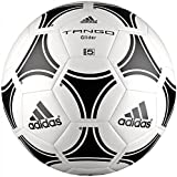 Adidas adulto Ball Pucks palle Tango Glider, bianco/nero