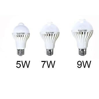 Viserneey Bombilla E27 E14 Vintage 60W 40W LED con detector de ...
