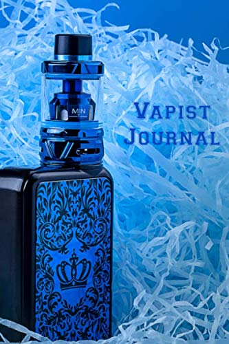 Vapist Journal: Vaporizer Vaping Review Notebook | Vaporizer Vaping Pre-Formatted Pages E-Cigarette Notebook | Journal Gift (E Juice Cig Vegetable)