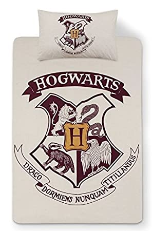 Primark Harry Potter Hogwarts Wendbar Single Bettbezug Set Mit