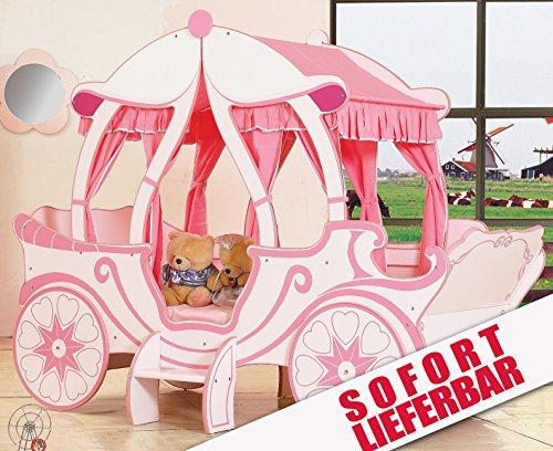 Prinzessin Kutschenbett 2nd Edition! Mädchenbett Kutsche in Rosa und ...