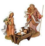 Fontanini by Roman Holy Family Set, 3-Piece, 12-Inch Each