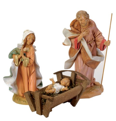 Fontanini by Roman Holy Family Set, 3-Piece, 12-Inch Each by Fontanini by Roman