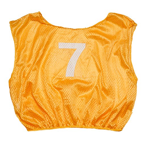 Champion Sports Adult Practice Numbered Scrimmage Vest, (Champion Practice Scrimmage Vests)