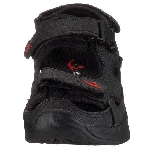 Noir Adulte Shi Mixte 9100 Comfort Sandales Step Chung q46wCx06