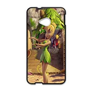 Hot Tinker Bell Protect Custom Cover Case for HTC One M7 QVT-37666