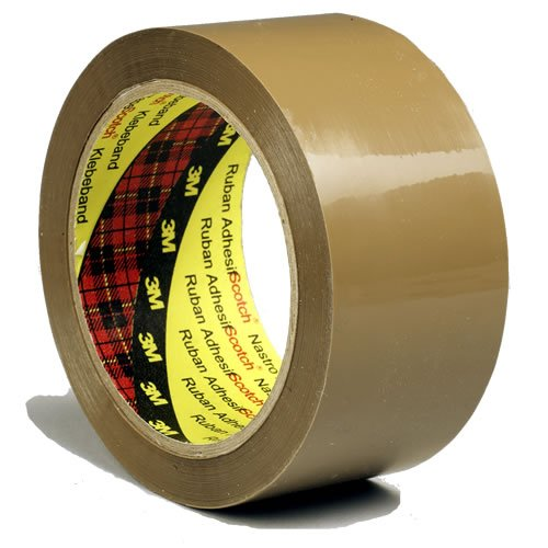 Scotch Packaging Tape - Low Noise -Brown - 6 Rolls - 48 mm x 66 m KT000032740