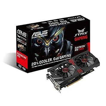 Asus STRIX-R9380-DC2OC-2GD5-GAMING - Tarjeta gráfica de 2 GB GDDR5 (AMD Radeon R9 380, PCI Express 3.0, 990 MHz, HDMI)