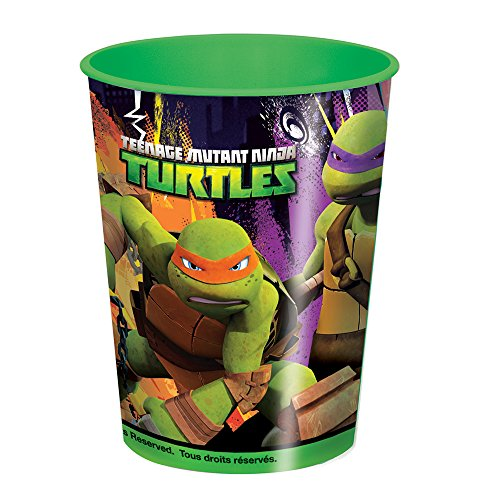 Teenage Mutant Ninja Turtles Plastic Cups, 12ct, 16oz by Unique