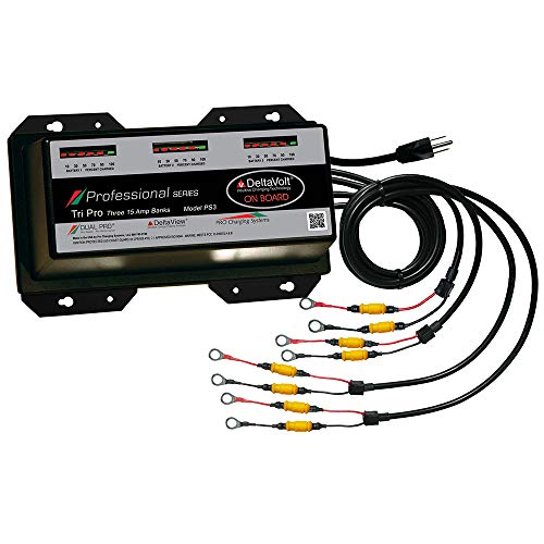 Dual Pro 15 Amp/Bank Professional Series 3 Bank Charger