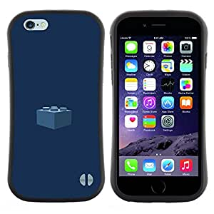 "Hypernova Slim Fit Dual Barniz Protector Caso Case Funda Para Apple (5.5 inches!!!) iPhone 6 Plus / 6S Plus ( 5.5 ) [Pedazo Kids Azul marino""]"