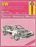 Volkswagen Scirocco 1982-87 Owner's Workshop Manual