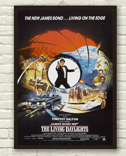 Image result for the living daylights movie poster