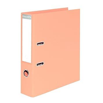 Exacompta A4 Salmón Naranja Lever Arch Archivadores Premium Colores Pastel - Pack 10: Amazon.es: Oficina y papelería