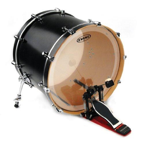 (Evans EQ4 Clear Bass Drum Head, 22 Inch)