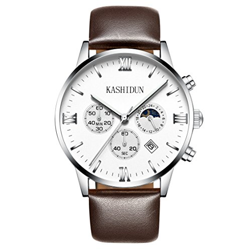 mens white dial luxury watches - 2