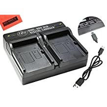 BM Premium NP-W126, NPW126S Dual Battery Charger for FinePix X100F, X-T10, X-T20, X-Pro1, X-Pro2, HS30EXR, HS33EXR, HS35EXR, HS50EXR, X-A1, X-A2, X-A3, X-E1, X-E2, X-E2S, 1 X-M1, X-T1, X-T2 Camera
