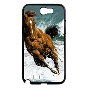 case Of Horse Customized Bumper Plastic Hard Case For Samsung Galaxy Note 2 N7100 by icecream design