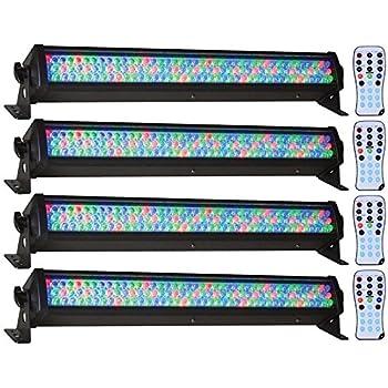 amazon com american dj supply mega bar 50 rgb led lighting musical